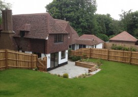 New build and refurbished house in Chorleywood