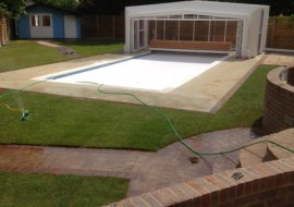 Swimming Pool and Groundworks in Stanmore